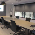Boardroom, equipped with video conferencing technology